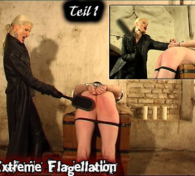 G�ttin SYONERA - Extreme Flagellation und Auspeitschung im eiskalten Keller - Teil 1