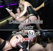 Domina Dakota bangt Pornbabe Dana Jayn Part I
