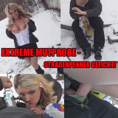 EXTREME MUTPROBE – STRAßENPENNER GEFICKT!