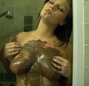 Massage mit schokolade