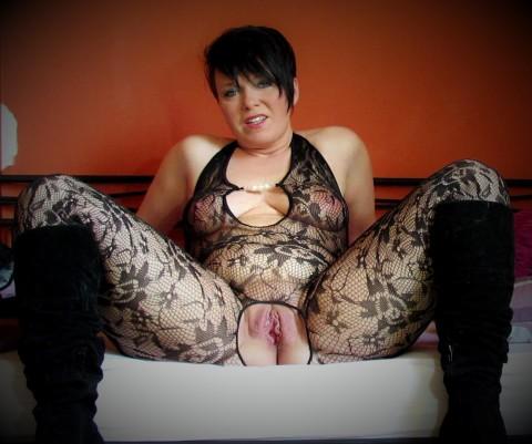 SEXY Catsuit und geiler Dirty Talk