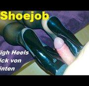 Shoejob - Heelsfick von hinten