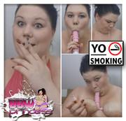 YO SMOKING!! GEILER BBW Smoke BJ