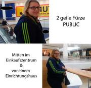2 x extrem public GEFURZT