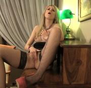 Orgasm auf dem Schreibtisch
