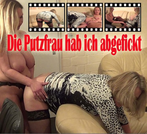Die Putzfrau abgefickt